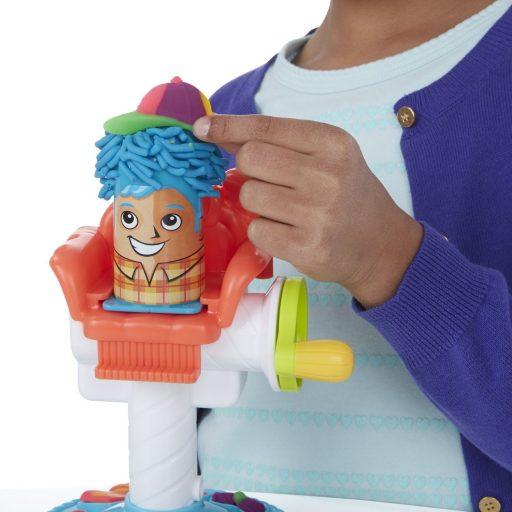 play-doh peluquería de plastilina