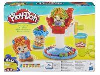 peinados locos de plastilina play-doh