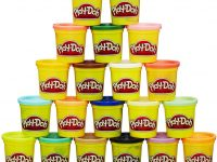 play doh pack 20 botes color
