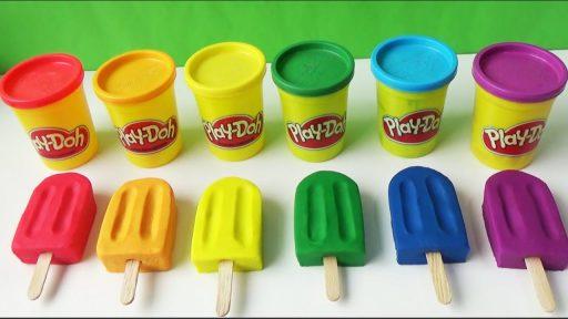 cómo hacer helados de plastilina