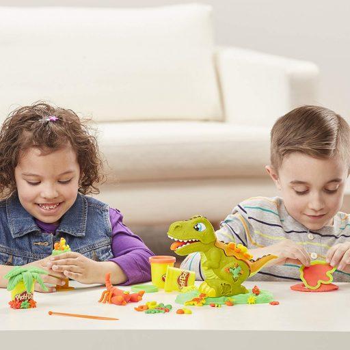 play-doh-rex-chomper-el-dinosaurio de plastilina hasbro