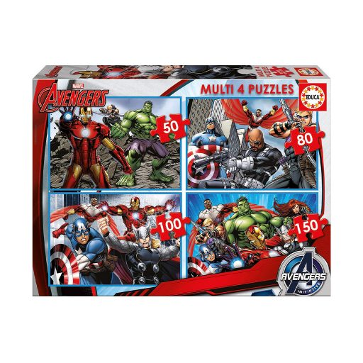 comprar puzzle avengers multi